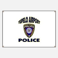 Tupelo Airport Police Banner