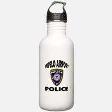 Tupelo Airport Police Water Bottle