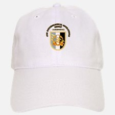 SOF - 4th PsyOps Flash with Text Baseball Baseball Cap