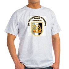 SOF - 4th PsyOps Flash with Text T-Shirt