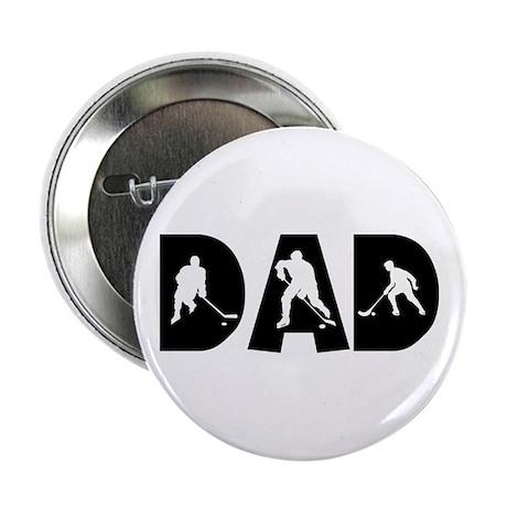 Hockey Dad Button