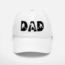 Hockey Dad Baseball Baseball Cap