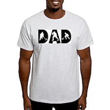Hockey Dad Ash Grey T-Shirt