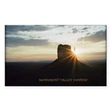 Monument Valley Sunrise Decal