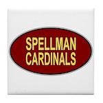 Spellman Cardinals Tile Coaster