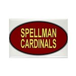 Spellman Cardinals Rectangle Magnet