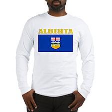 Alberta Flag Long Sleeve T-Shirt