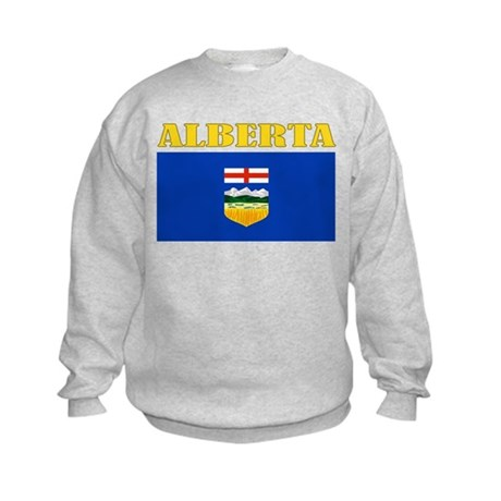Alberta Flag Kids Sweatshirt