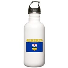 Alberta Flag Sports Water Bottle