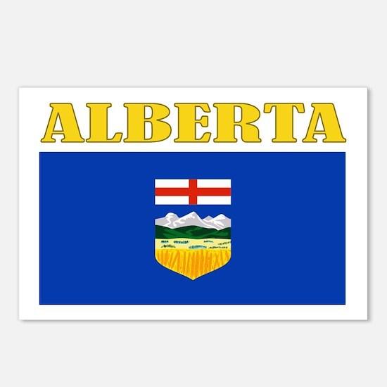 Alberta Flag Postcards (Package of 8)