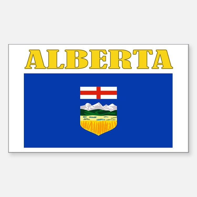 Alberta Flag Bumper Stickers