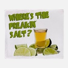 Where's the Salt? Throw Blanket