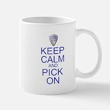 Keep Calm Pick On (Parody) Mug