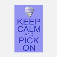 Keep Calm Pick On (Parody) Decal