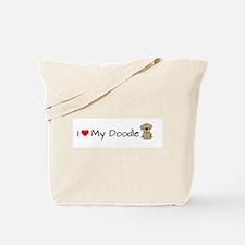 Unique Goldendoodle Tote Bag