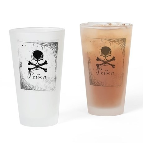 Poison Pint Glass