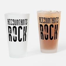 Accountants Rock Pint Glass
