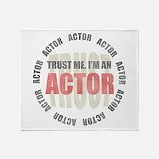 Trust Actor Throw Blanket