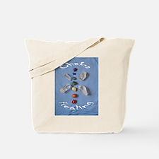 Chakra Stones and Crystals Tote Bag