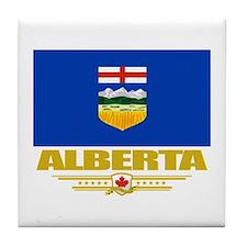 Alberta Pride Tile Coaster
