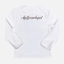 Vintage Anthropologist Long Sleeve Infant T-Shirt