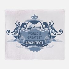 Greatest Architect Throw Blanket