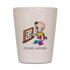 Future Auditor Shot Glass