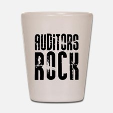 Auditors Rock Shot Glass