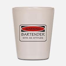 Attitude Bartender Shot Glass