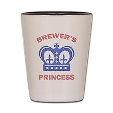 Brewer Princess Shot Glass