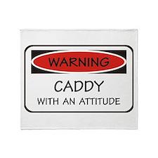 Attitude Caddy Throw Blanket