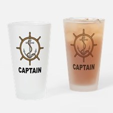 Captain Pint Glass