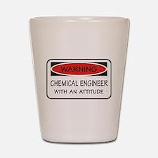 Attitude Chemical Engineer Shot Glass