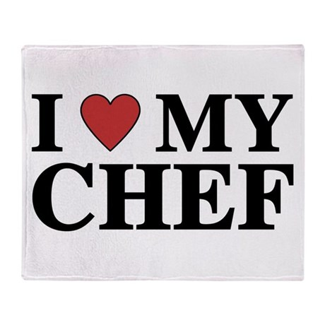 Chef Throw Blanket