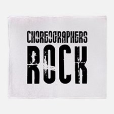Choreographers Rock Throw Blanket