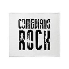Comedians Rock Throw Blanket