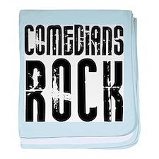 Comedians Rock baby blanket