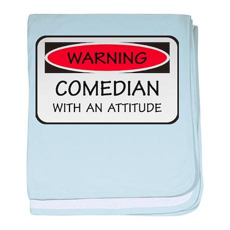 Attitude Comedian baby blanket