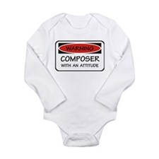 Attitude Composer Long Sleeve Infant Bodysuit