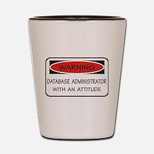Database Administrator Shot Glass