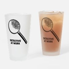 Detective At Work Pint Glass
