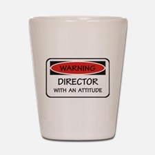 Attitude Director Shot Glass
