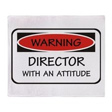 Attitude Director Throw Blanket