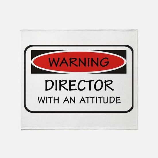 Attitude Director Throw Blanket