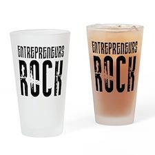 Entrepreneurs Rock Pint Glass