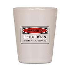 Attitude Esthetician Shot Glass