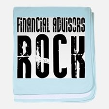Financial Advisors Rock baby blanket