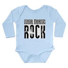 General Managers Rock Long Sleeve Infant Bodysuit