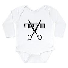 Hairstylist Long Sleeve Infant Bodysuit