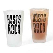 Hosts Rock Pint Glass
